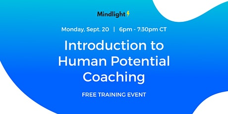 [Free] Introduction to Human Potential Coaching for Practitioners tickets