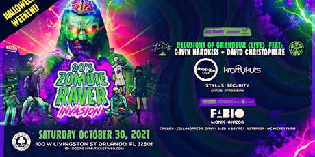 90's Zombie Raver Invasion // Halloween Weekend // Ace Cafe tickets