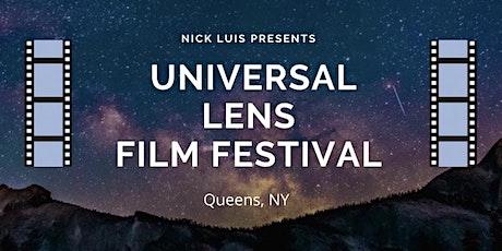 Universal Lens Film Festival tickets
