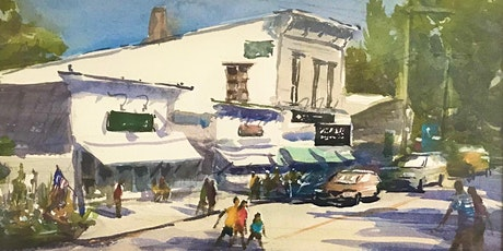 Painting Small Town Neighborhoods & Streets  in Watercolor with Paul Oman tickets
