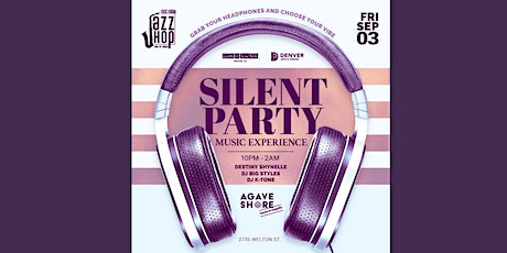 First Friday's  Silent Party tickets