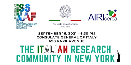 THE ITALIAN RESEARCH COMMUNITY IN NEW YORK tickets