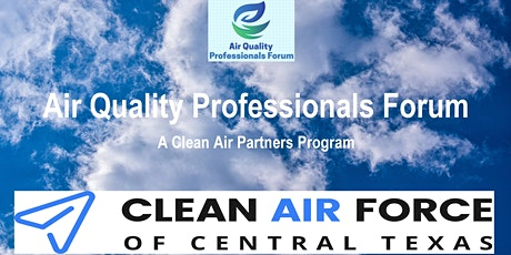 Air Quality Professionals Forum October 2021 Meeting tickets