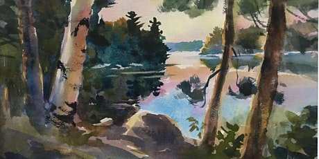Painting Lake Country Landscapes in Watercolor with Paul Oman tickets