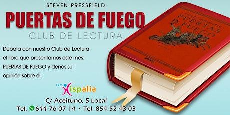 """Club de lectura """"PUERTAS DE FUEGO"""" entradas"""