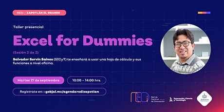 Excel  for dummies  (sesión 2) entradas