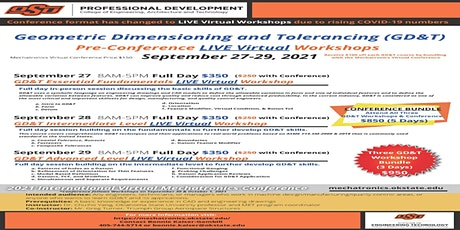 Geometric Dimensioning and Tolerancing GD&T Advanced Level Workshop tickets