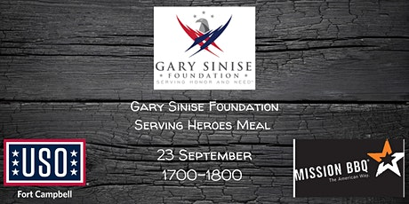 Serving Heroes Meal : Mission BBQ Family Meal tickets