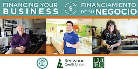 Financing Your Business | Financiamiento de su negocio tickets