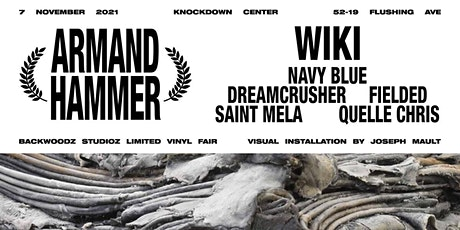 Armand Hammer / Wiki / Navy Blue + more tickets