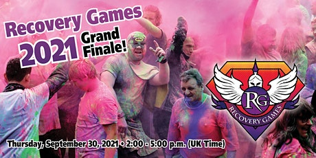 Recovery Games 2021 Grand Finale tickets
