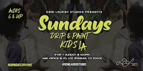 Sunday's Drip & Paint Kids LA tickets