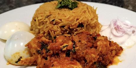 South Indian Chicken Biriyani Masterclass tickets