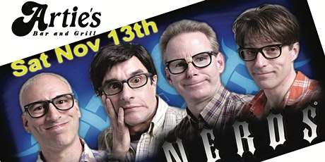 the infamous NERDS return to ARTIES in Frenchtown with guests Shottgun red. tickets