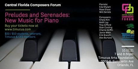 Preludes and Serenades— New Music for Piano (Live Stream) Tickets