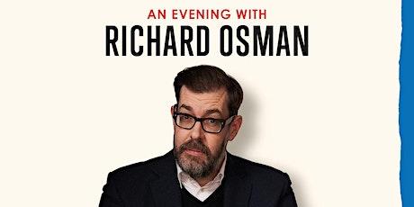 An Evening with Richard Osman 2021 tickets