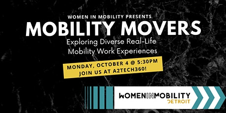 Mobility Movers - Exploring Diverse Real Life Mobility Work Experiences tickets