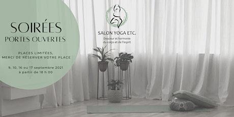Portes ouvertes - SALON YOGA ETC. - 17 sept. 2021 tickets