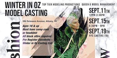 Winter In Oz Model Casting tickets