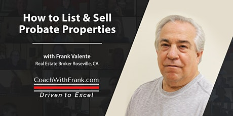 How to List and Sell Probate Properties tickets