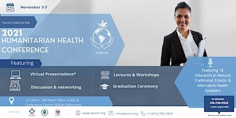 WONM 2021 International Humanitarian Health  Conference tickets