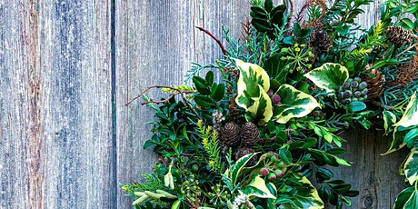 Christmas Wreath Workshop - Sustainable, foraged, natural home decorations tickets