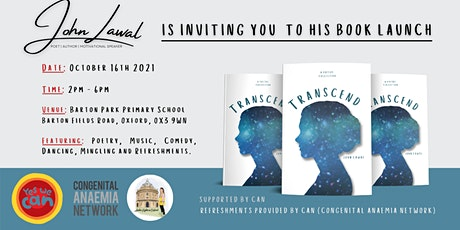 Book Launch (TRANSCEND) A Poetry Collection by John Lawal tickets