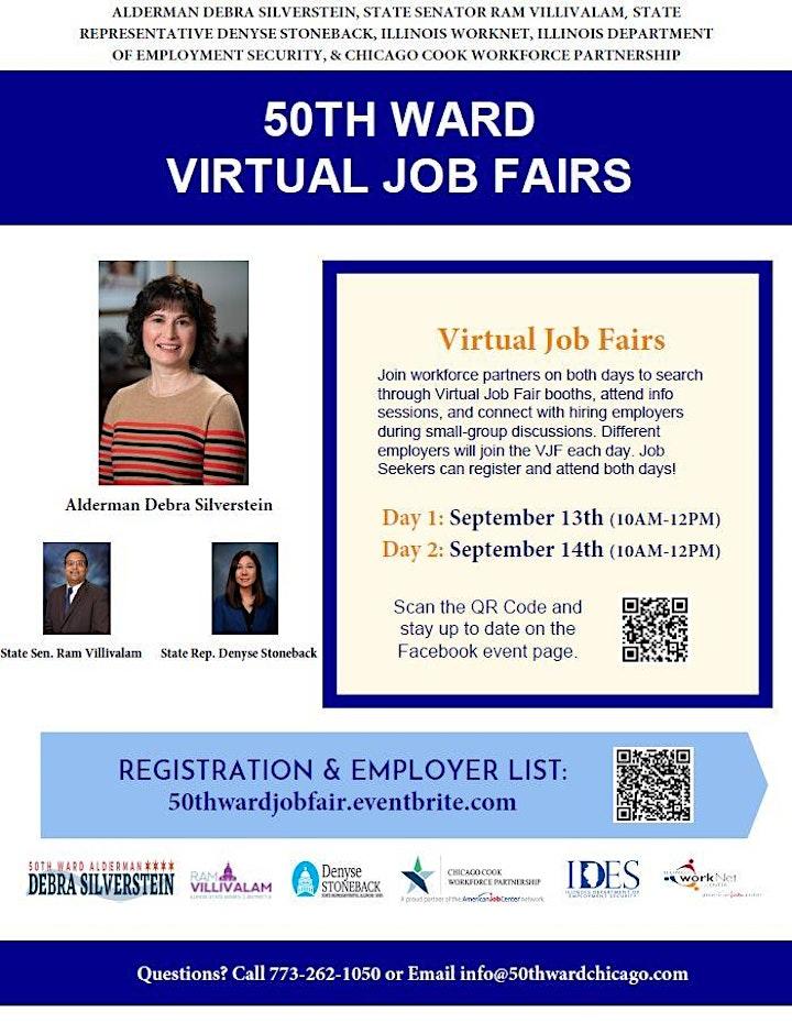 50th Ward Virtual Job Fair image