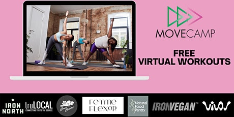 MoveCamp Virtual Movement Sessions – Fall Series tickets
