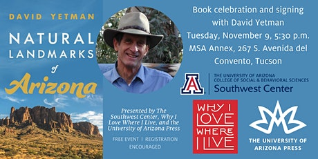 Natural Landmarks of Arizona with David Yetman tickets