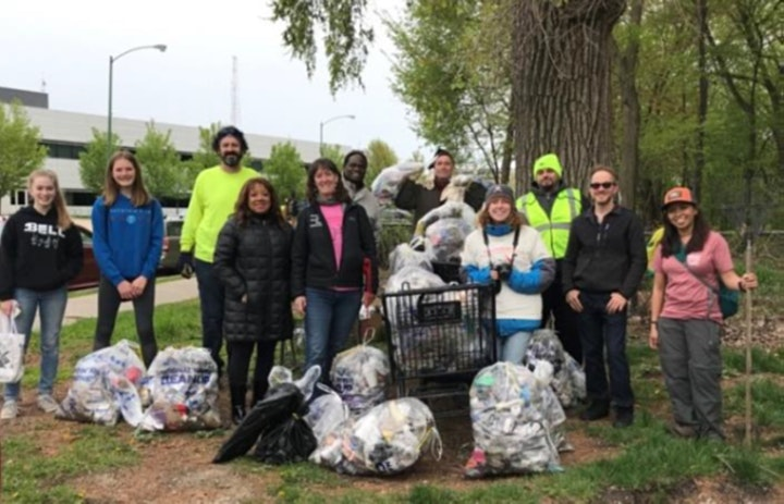 LAI Ely Chapter  Volunteer Service Day - Chicago River Cleanup image
