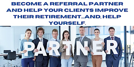 Become a Referral Partner tickets
