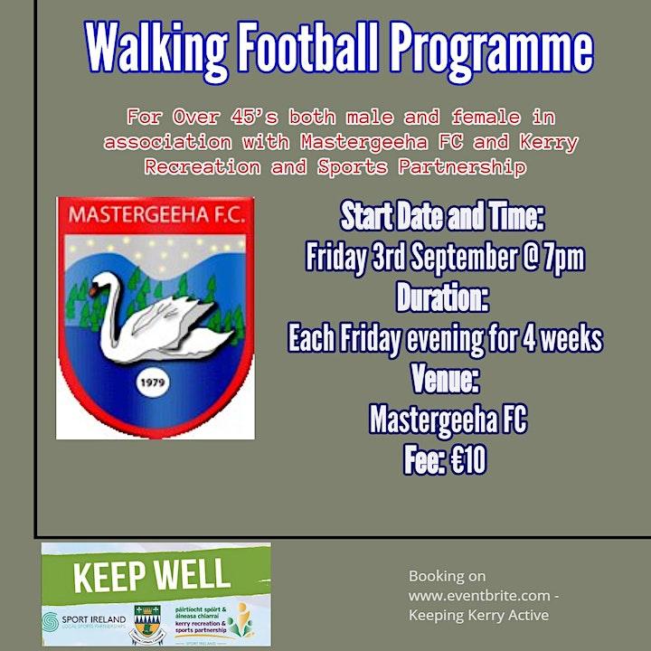 Keeping Kerry Active - Walking Football (Mastergeeha FC) image