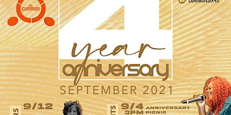 Common 4th Anniversary Pinic tickets