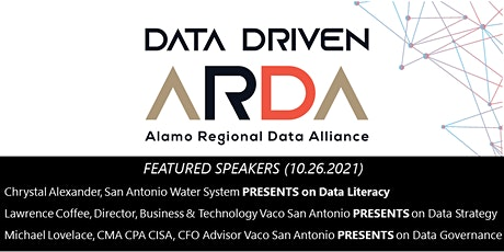Data Driven: Learn how to champion data literacy, governance, and strategy tickets