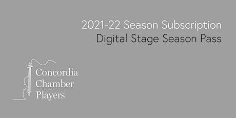 2021-22 Concordia Digital StageSeason Pass Tickets