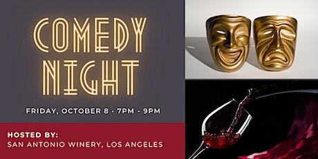Comedy Night at San Antonio Winery, Los Angeles tickets