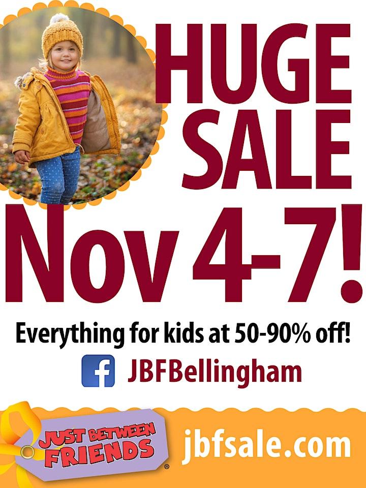 PRESALE   Huge Kids Consignment Pop-Up Shop! JBF Bellingham Fall 2021 image