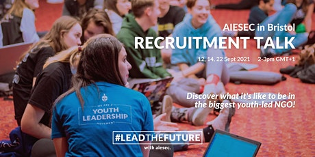 AIESEC in Bristol Recruitment Talk tickets