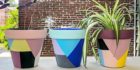 Paint Your Own Planter Workshop tickets