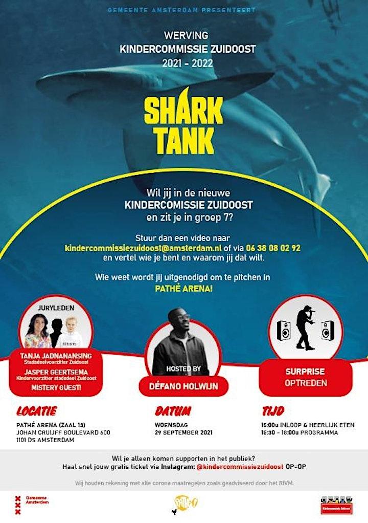 Afbeelding van Kindercommissie Amsterdam Zuidoost - The Sharktank 2021!