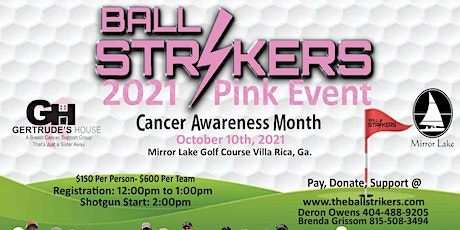 The Ball Strikers 2021 Pink Event Golf Tournament tickets