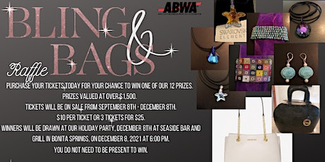 Bling & Bags Raffle - ABWA Imperial River Fundraiser tickets