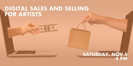 Digital Sales and Selling for Artists tickets