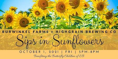 Sips in Sunflowers 2021 tickets