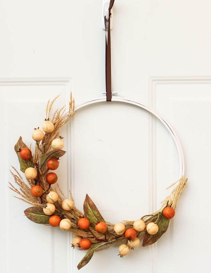 Fall Wreath Making image