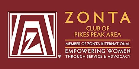 Zonta PPA - October  2021 Program Event tickets