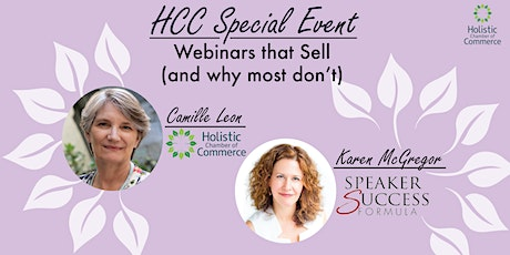 Special Event: Why Webinars Sell (and why most don't) ft. Karen McGregor tickets