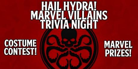Hail Hydra! Marvel Villains Trivia Night! tickets