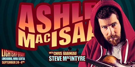 Ashley MacIsaac Live  in Lunenburg N.S. at The Lightship Brewery tickets